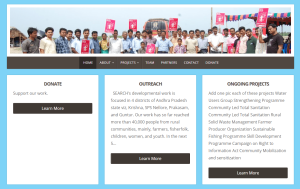 SEARCH NGO Website